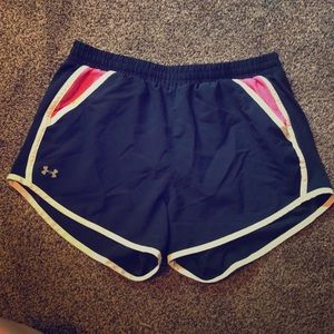 Under Armour athletic shorts with pockets